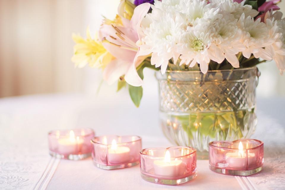 Ideas para hacer centros de mesa para tu boda